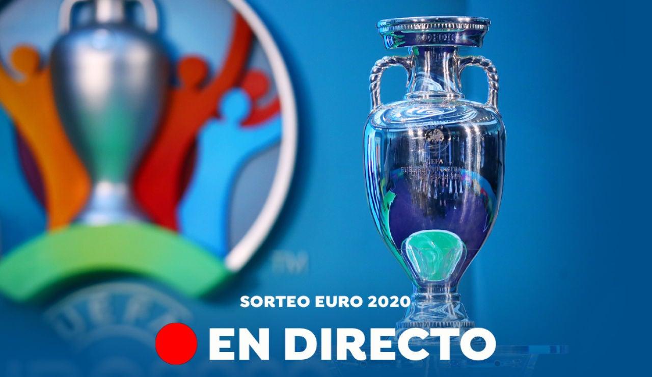Sorteo de la Eurocopa 2020, en directo