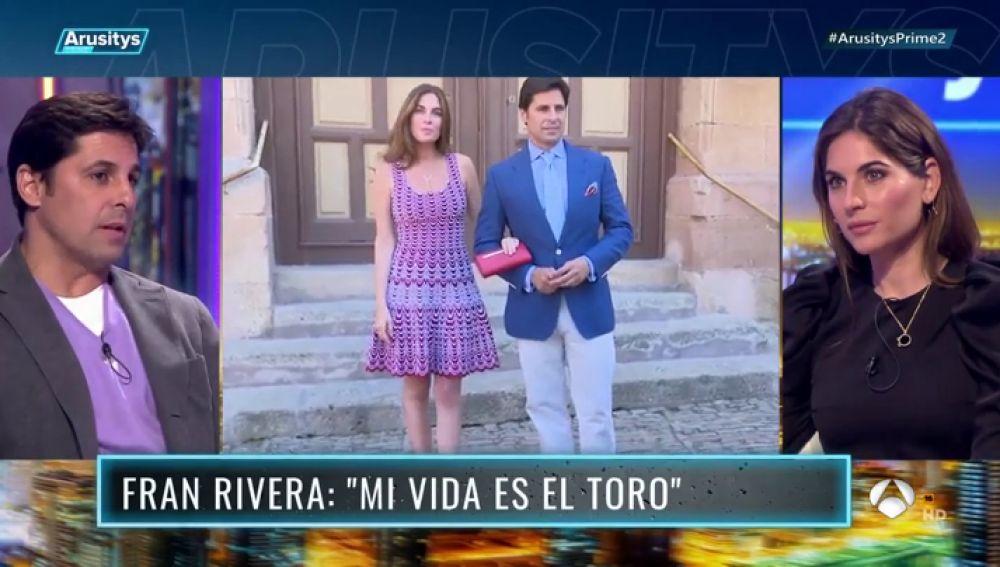 El momento más complicado en la relación entre Fran Rivera y Lourdes Montes