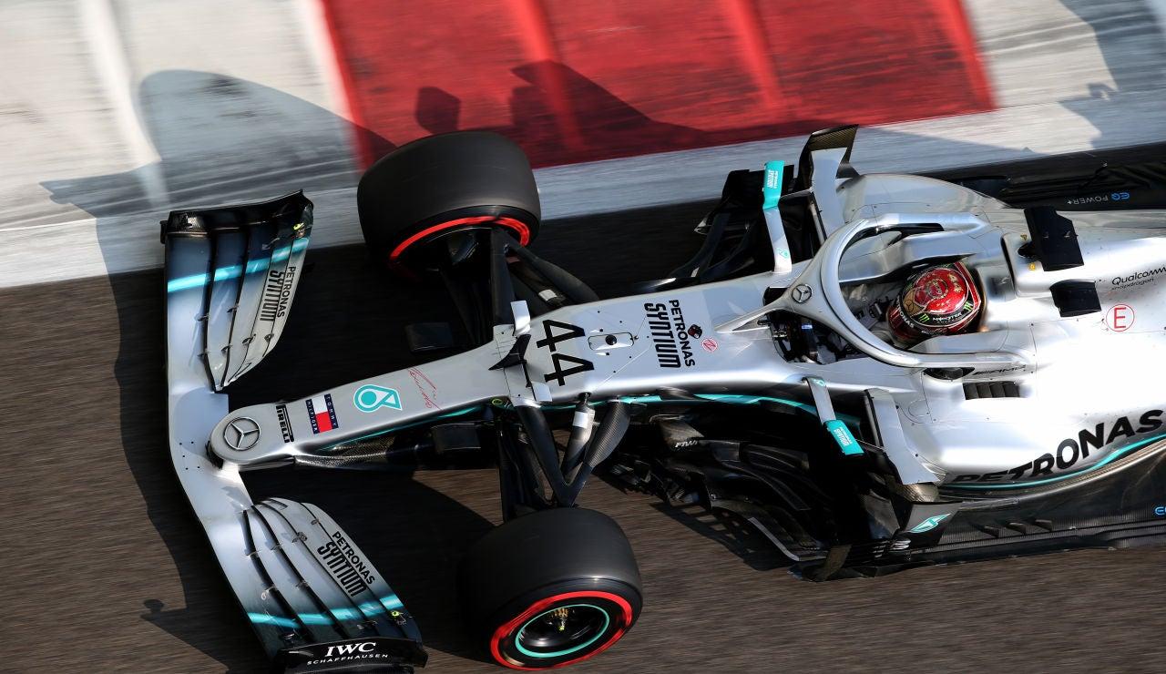 Hamilton logra la pole en Abu Dabi