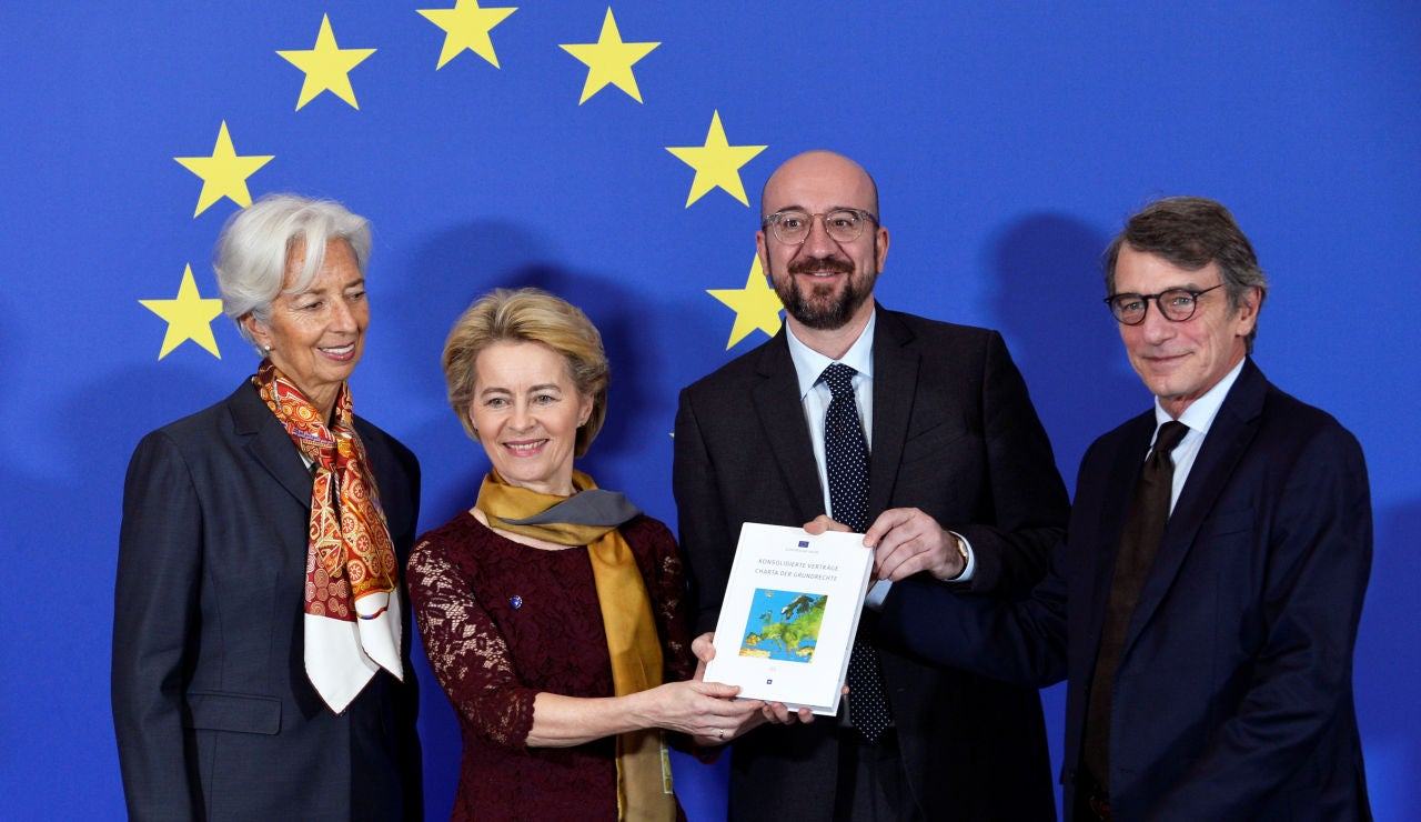 El nuevo equipo de la Comisión Europea