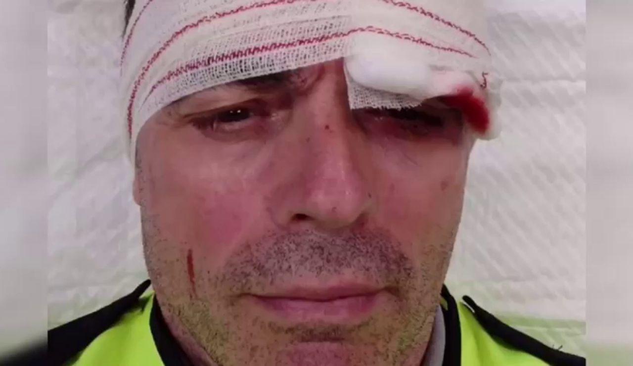 Tres vigilantes de Renfe, brutalmente agredidos al intervenir en una pelea en un tren en Barcelona