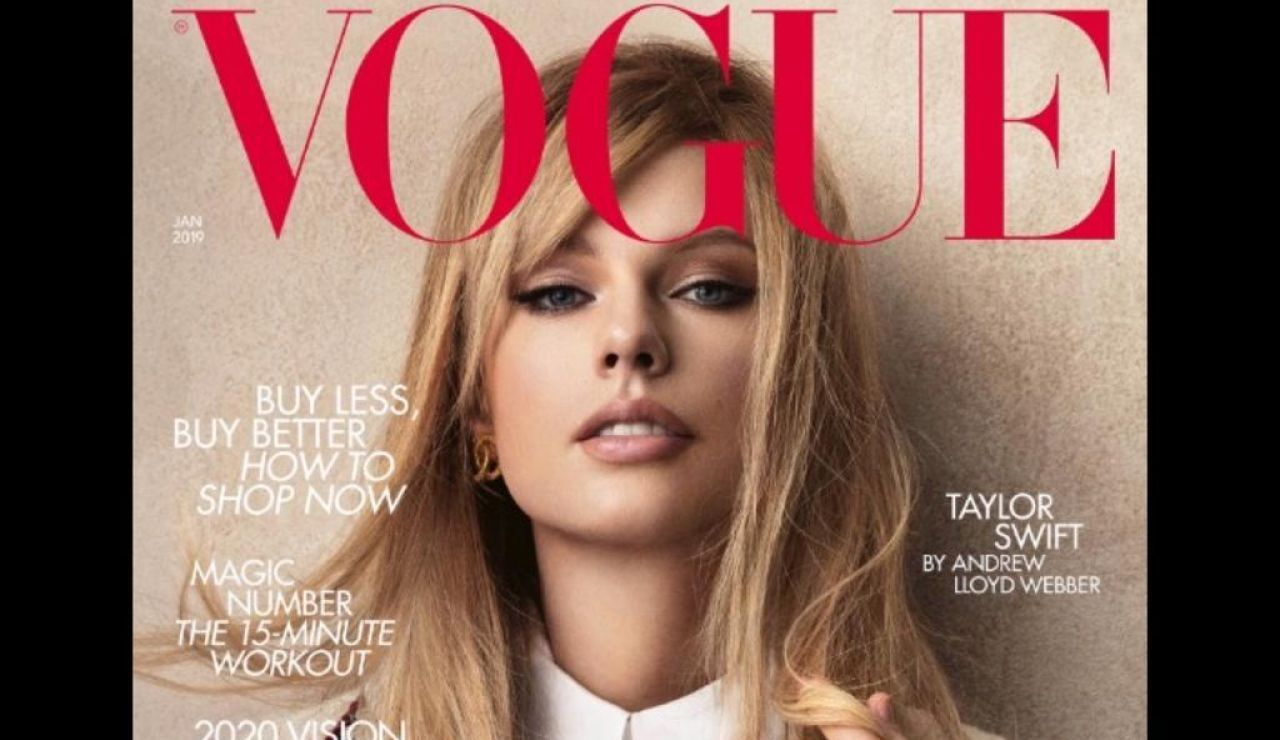 Portada British Vogue Taylor Swift