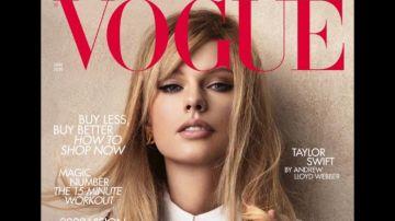 Portada British Vogue Taylor Swift