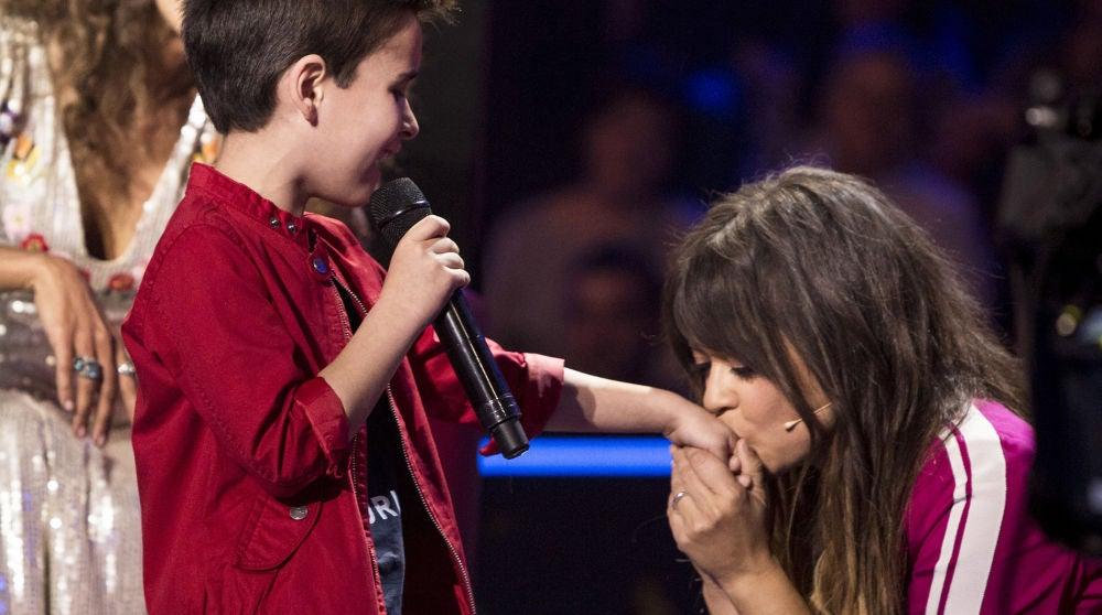 Un dulce Daniel García derrite a Rosario y Vanesa con 'El Mundo' de Pablo López en la Semifinal de 'La Voz Kids'