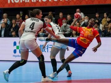 España le gana a Hungría en su segundo partido de Mundial