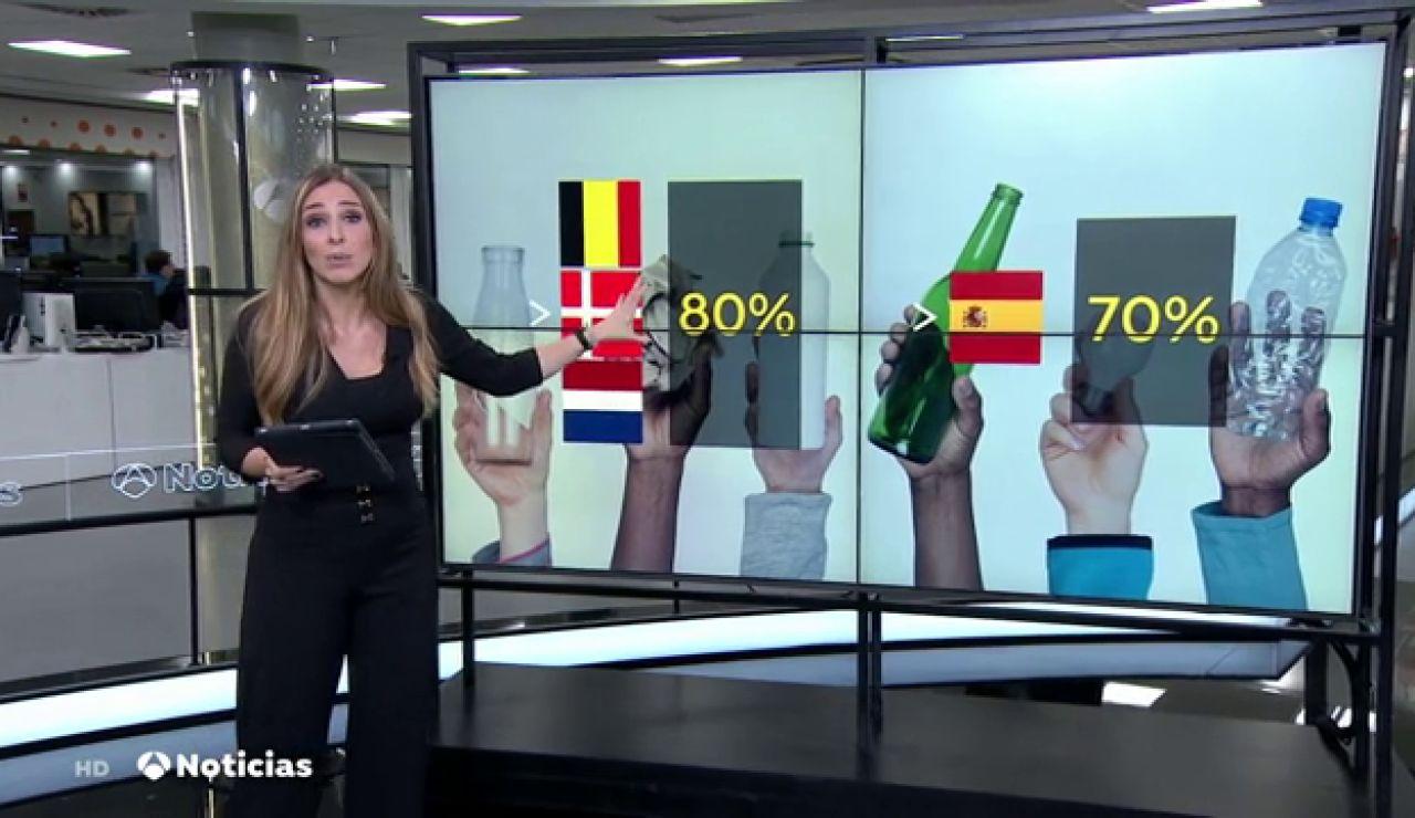 España es el sexto país que más recicla de la Unión Europea
