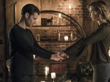 Klaus y Freya en 'The Originals'