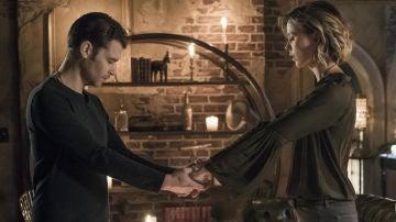 Klaus y Freya en 'The Originals'