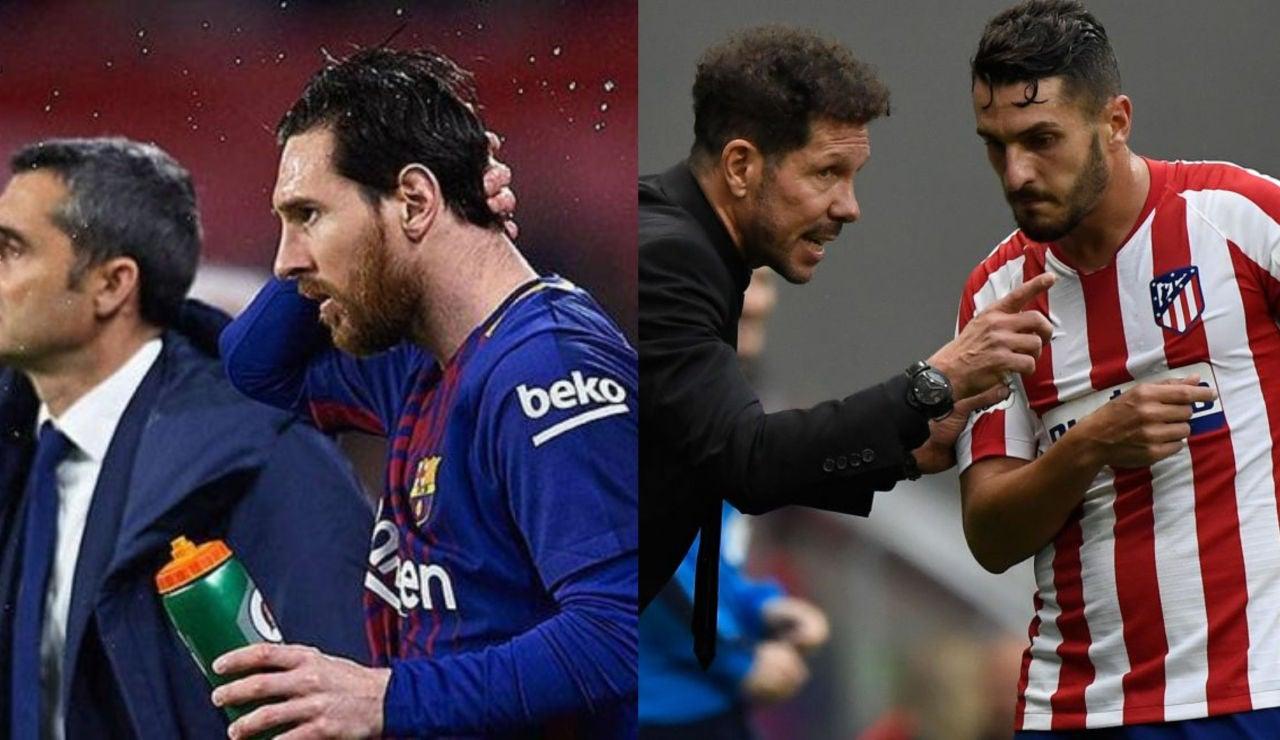 Las claves del partido entre Atlético y Barcelona