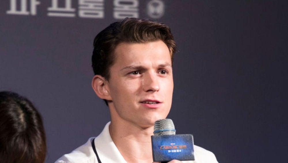 El actor Tom Holland