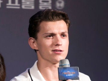 El actor Tom Holland
