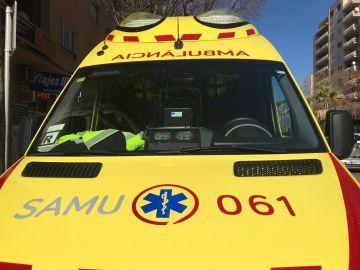 Ambulancia del Servicio de Atención Médica Urgente
