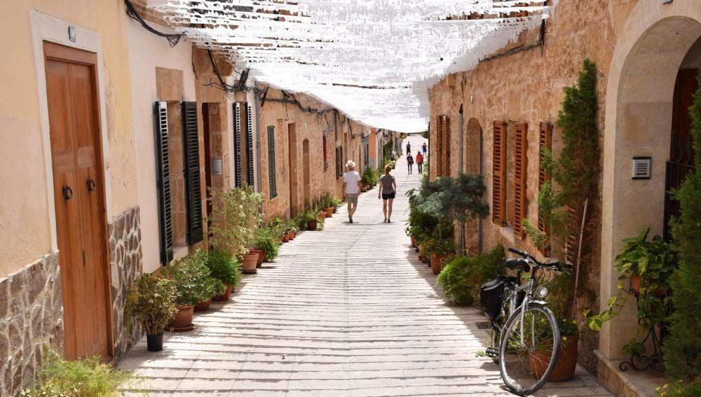 El centro de Alcudia, municipio que ya forma parte de la Asociación de los Pueblos más bonitos de España