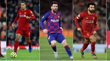 Los principales favoritos al Balón de Oro 2019