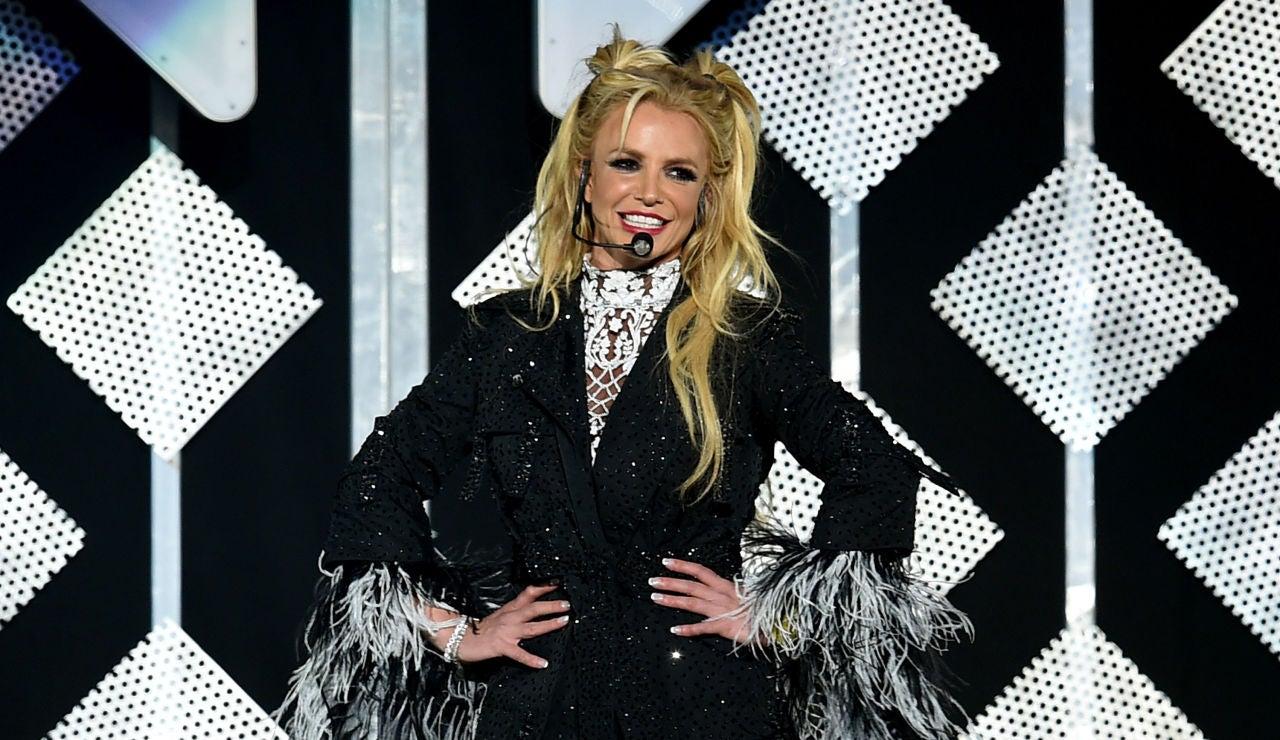 Britney Spears durante una actuación en 2016 en Los Ángeles