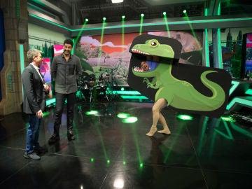 La performance jurásica de El Monaguillo en 'El Hormiguero 3.0'