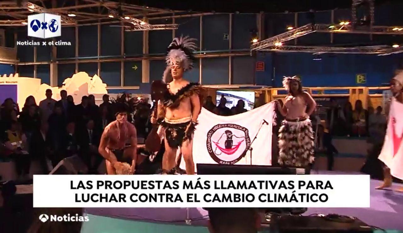 Las curiosidades de la Cumbre del Clima