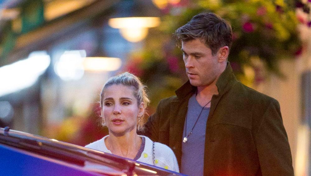 Chris Hemsworth y Elsa Pataky