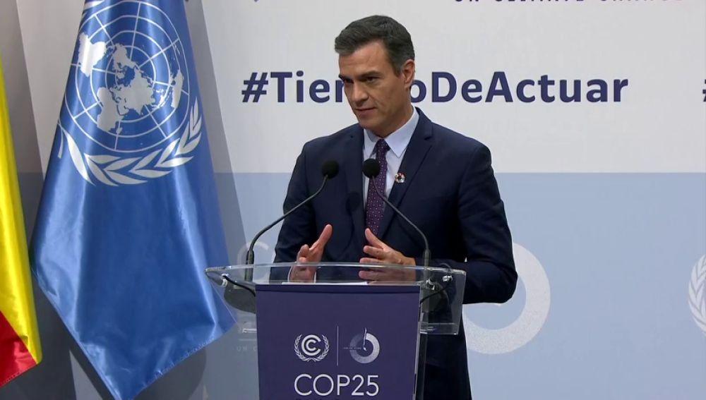 Pedro Sánchez evita responder a las exigencias de ERC