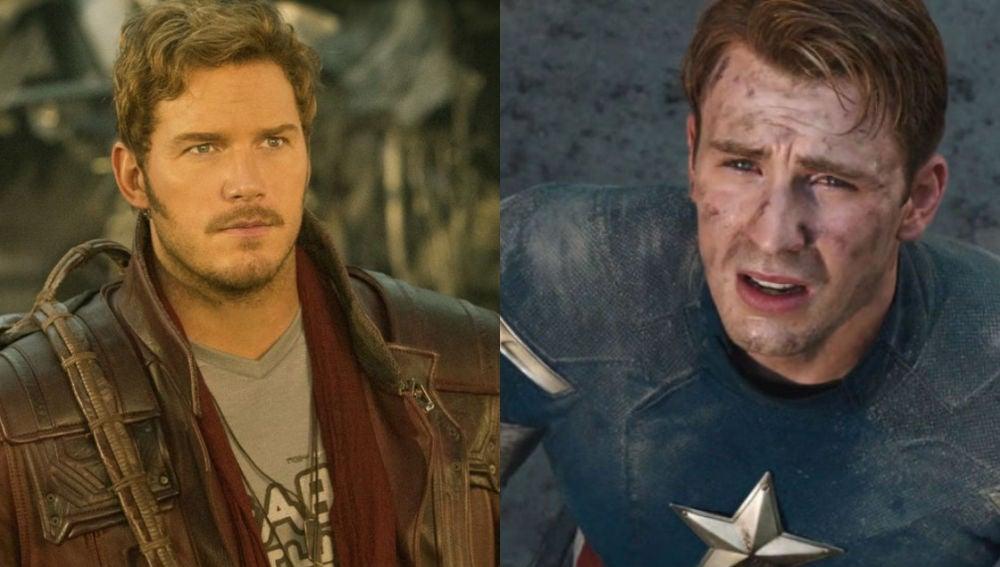 Star-Lord y Capitán América en el Universo Marvel