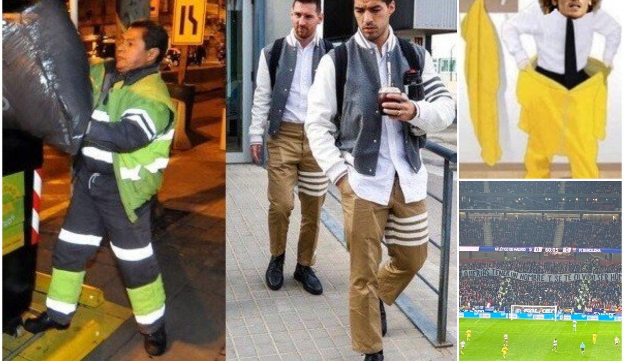 Los mejores memes del Atlético - Barcelona