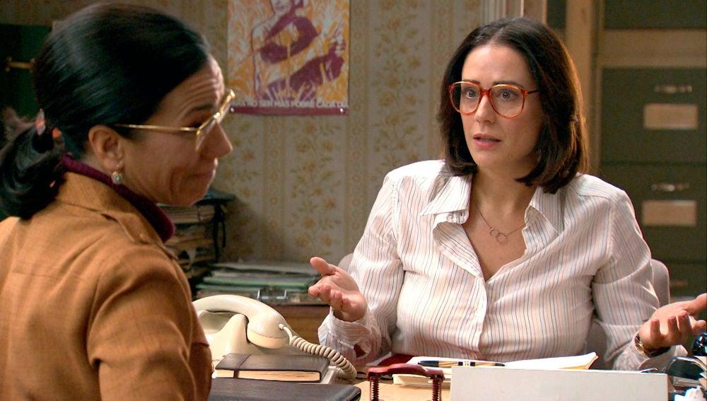 """Cristina, asombrada con Manolita: """"Eres una caja de sorpresas"""""""