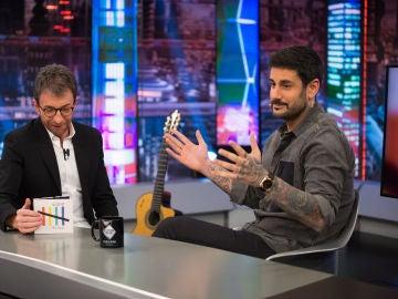 """Melendi se sincera con Pablo Motos sobre el hachís y la marihuana: ¿Cómo reacciona cuando hay un """"peta"""" cerca?"""
