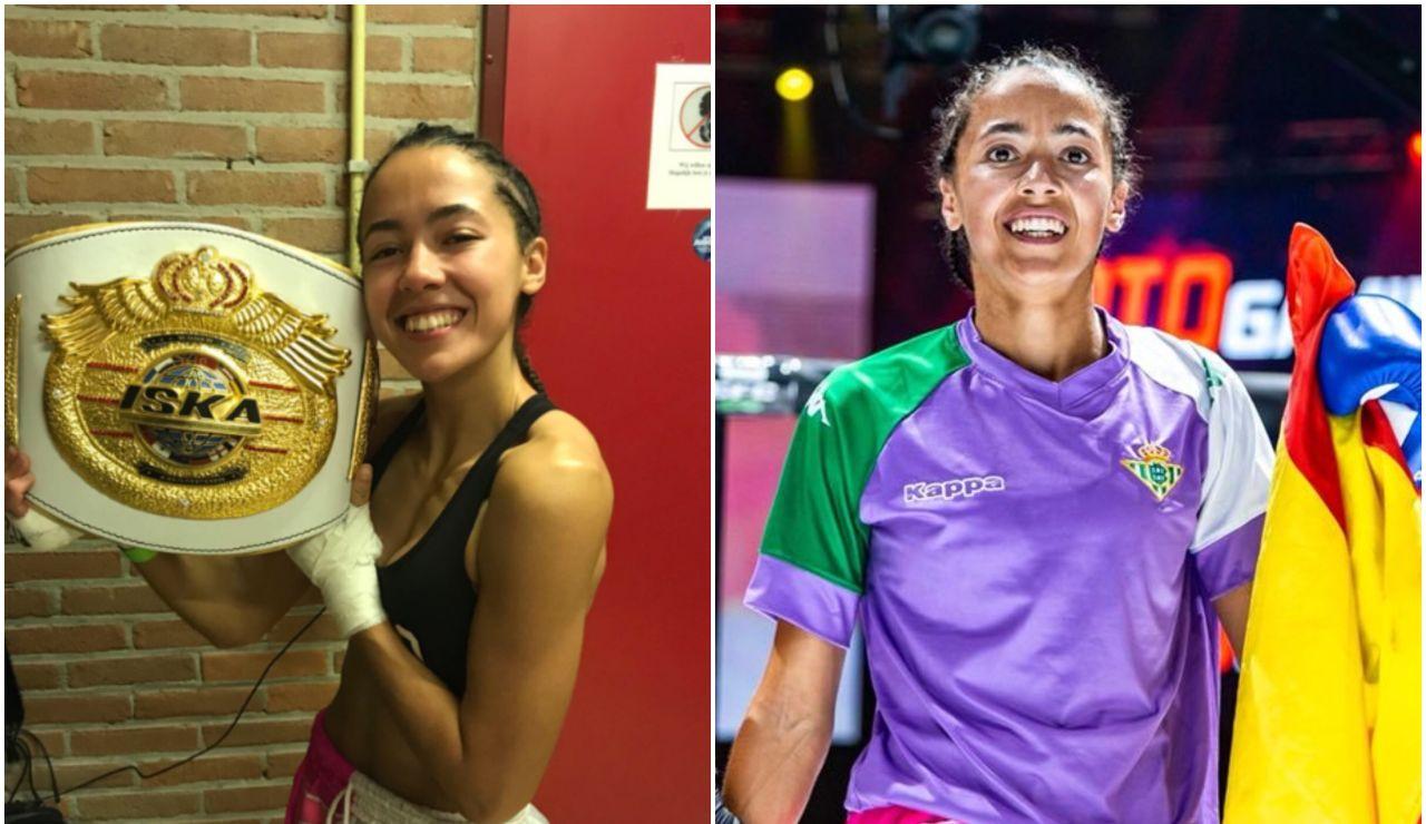 Lara Fernández, campeona del mundo de Muay Thai