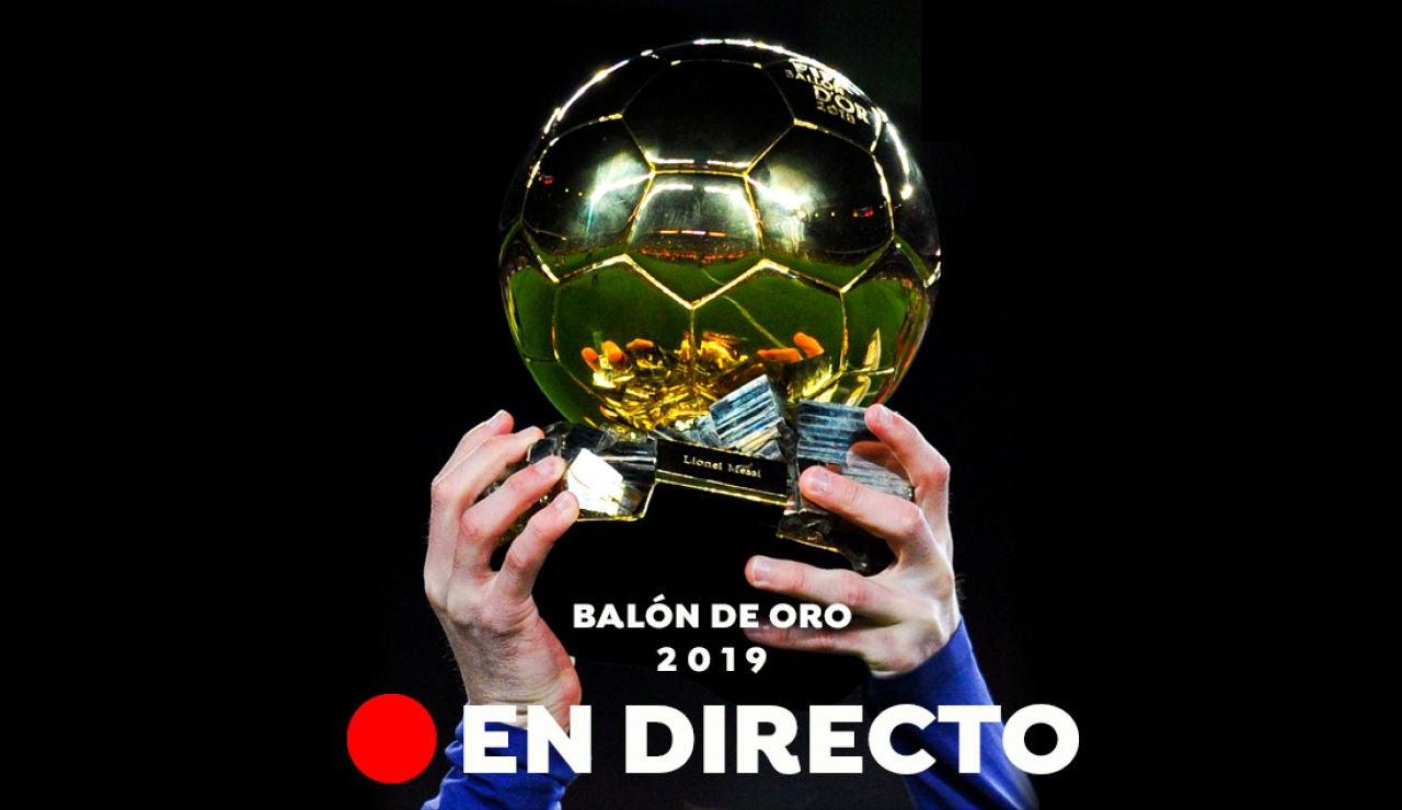 El Balón de Oro, en directo