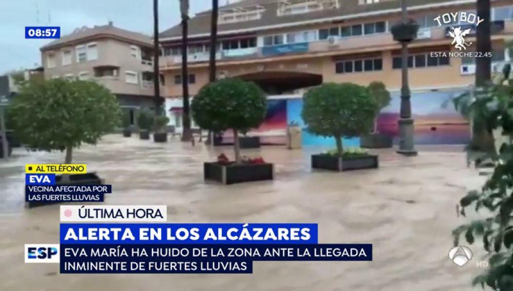 Alerta en Los Alcázares.