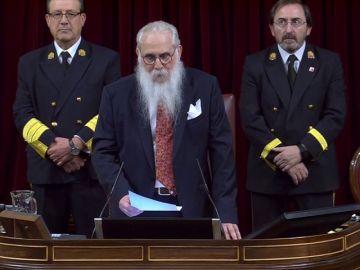 Vuelve a ver el discurso del diputado Zamarrón 'Valle-Inclán' en la apertura del Congresp
