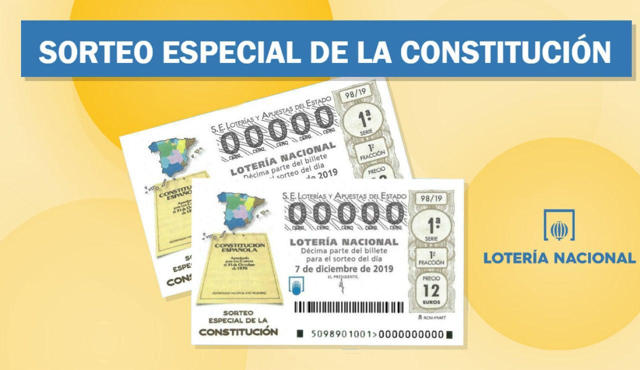Sorteo Especial de la Constitución 2019: Lotería Nacional hoy