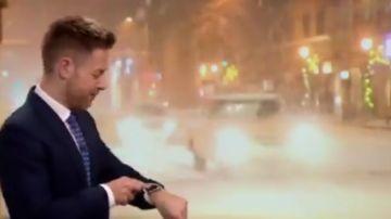 Siri interrumpe al hombre del tiempo en directo