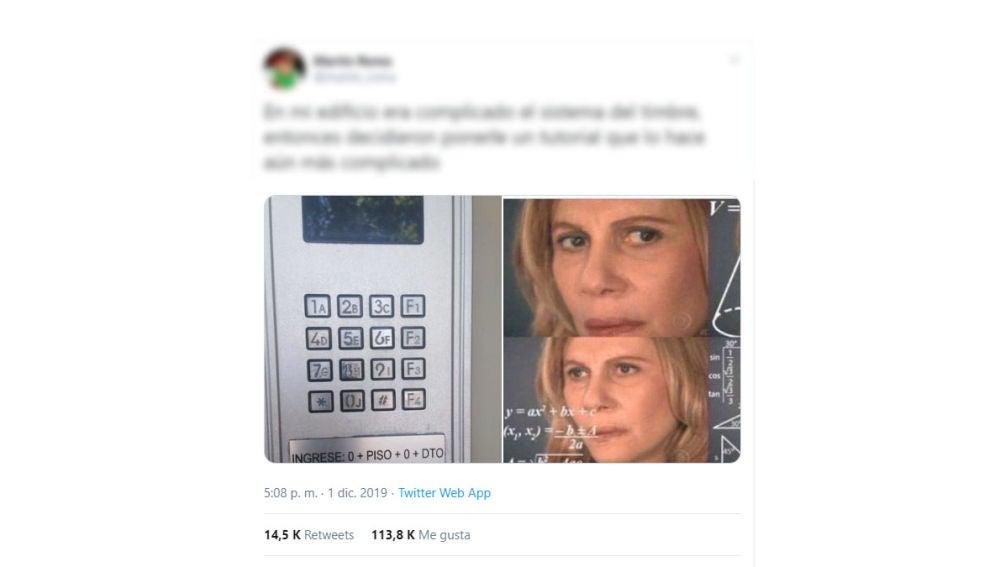 Un telefonillo que se vuelve viral