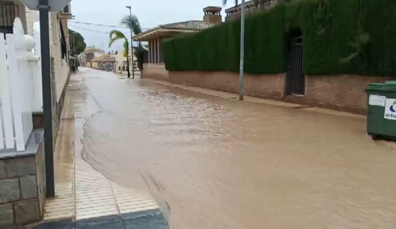 La gota fría vuelve a cebarse con Murcia