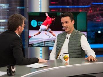 Roberto Bautista recuerda con emoción en 'El Hormiguero 3.0' cómo vivió la final de la Copa Davis