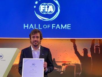 Fernando Alonso, por segunda vez en el Hall of Fame