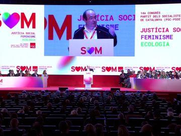 Miquel Iceta define la nación catalana: sujeto político no independiente