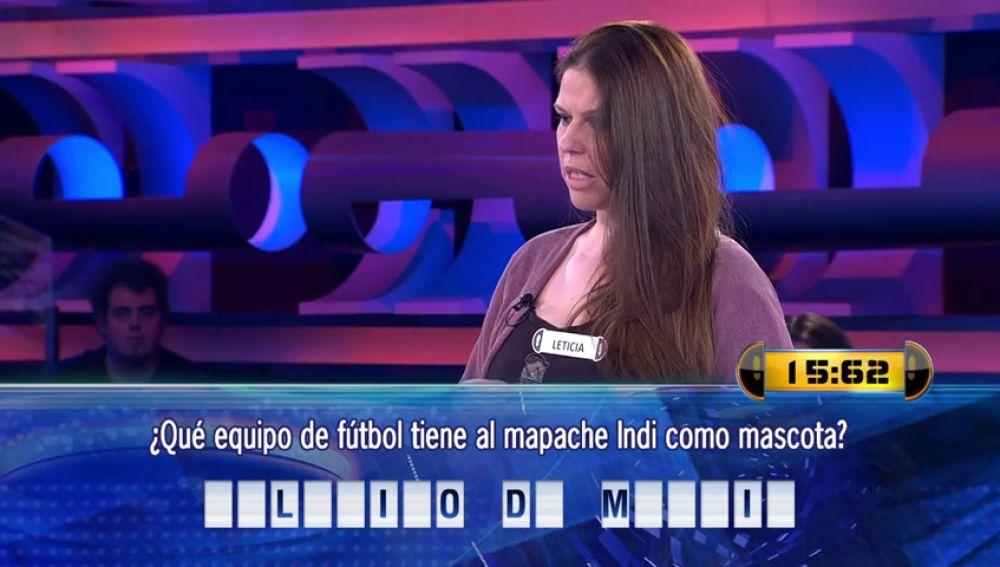 El error más surrealista de '¡Ahora caigo!' por 'culpa' del Atlético que va al 'top-5' de respuestas