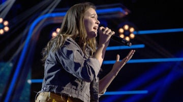 María Expósito canta 'Believe' en la Semifinal de 'La Voz Kids'
