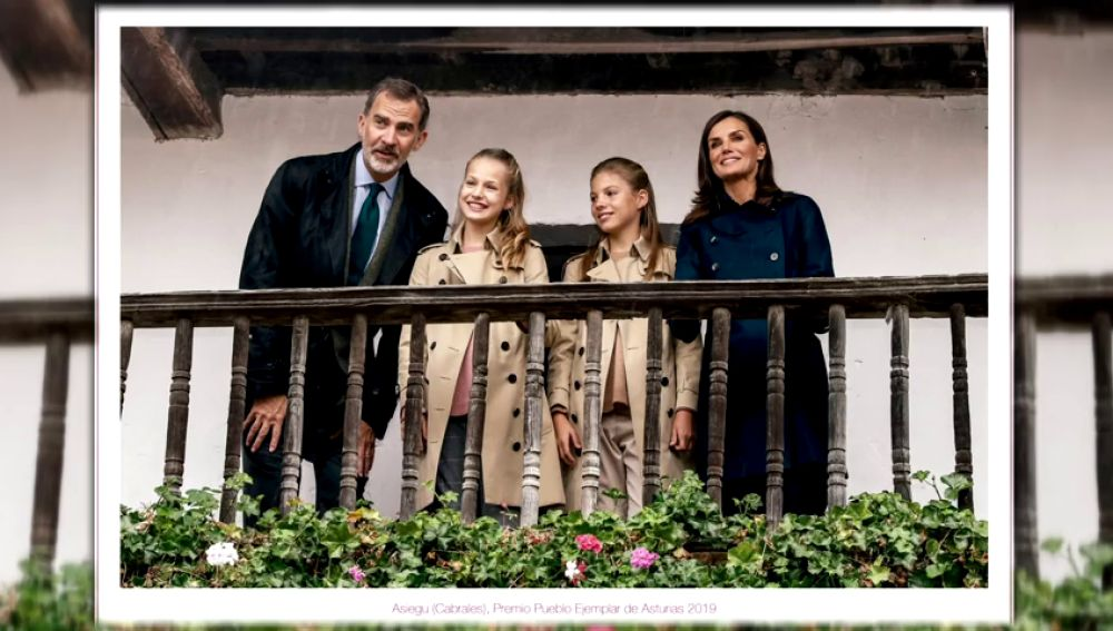 Casa Real felicita la Navidad con una foto en la que la Infanta Leonor es la gran protagonista