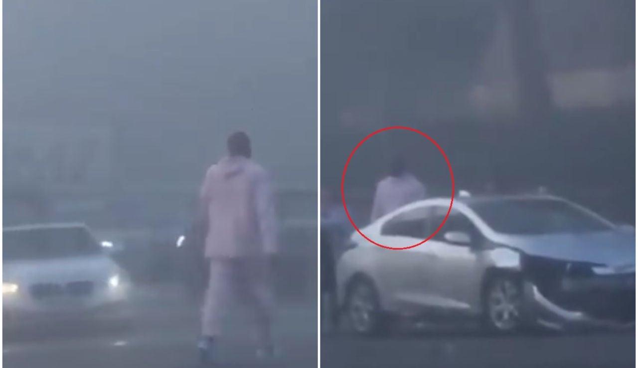 Kobe Bryant ayuda a los afectados de un accidente de tráfico