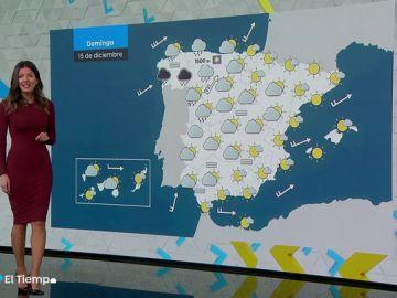 Las nubes marcarán la jornada del domingo en la mayor parte de la Península