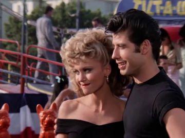 John Travolta y Olivia Newton-John en 'Grease'