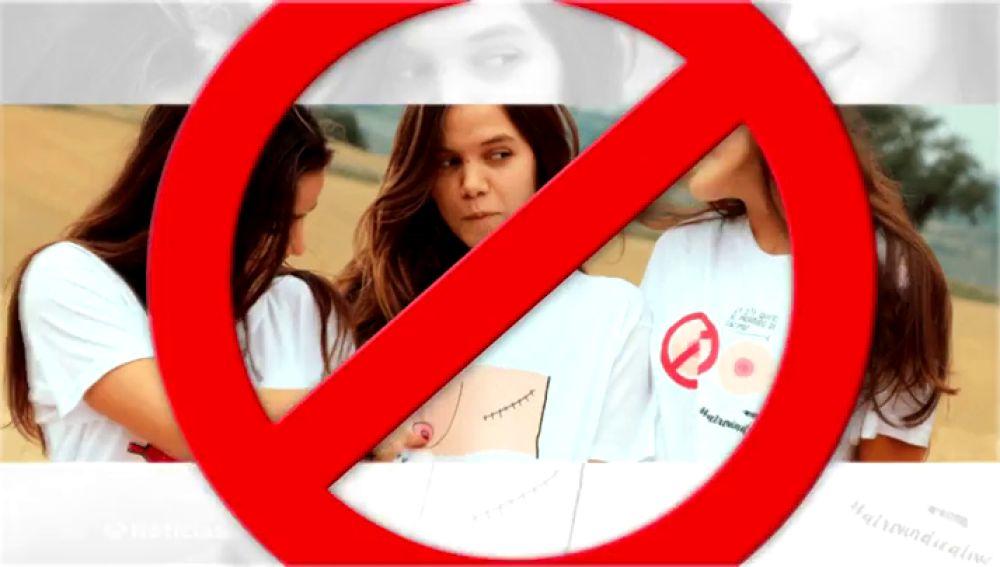 Facebook e Instagram censuran unas camisetas contra el cáncer de mama por mostrar a mujeres desnudas