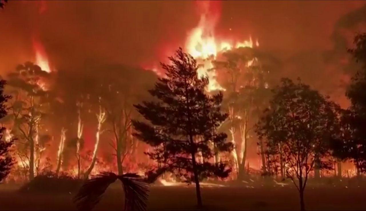Australia queda devastada por el incendio