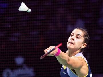 Carolina Marín en el Internacional de Italia