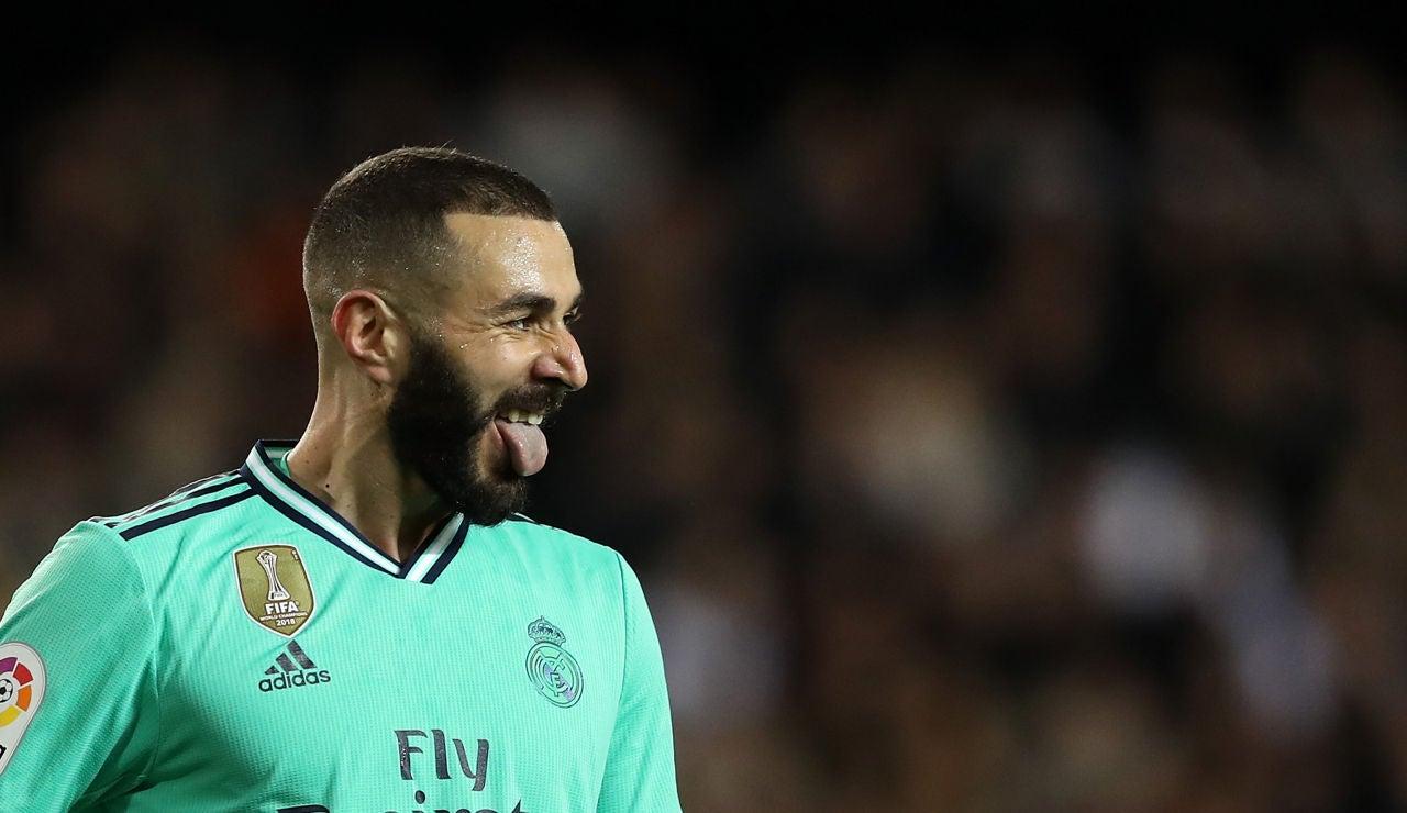 Benzema logra el empate en el 94'