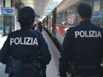 Policía italiana
