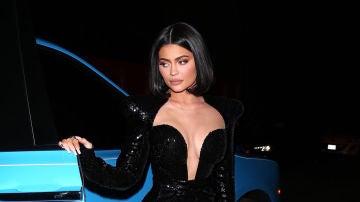 El increíble vestidazo de Kylie Jenner